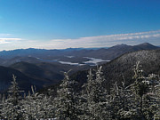 Lake Placid Ny Photos - A Winters Day by Kathy Hutchings