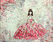 Ethereal Mixed Media - A Winters Fairytale by Janelle Nichol