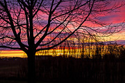 Wayne Stabnaw - A Wisconsin Fall Sunset