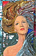 Paper Mache Art - A Work in Progress by Phyllis Dunn