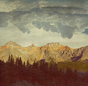 Mountains Digital Art Metal Prints - A World Of Its Own Metal Print by Brett Pfister