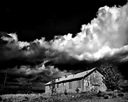Dramatic Sky Framed Prints - Abandoned Framed Print by Arne Hansen