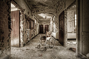 Abandoned Buildings Framed Prints - Abandoned asylums - what has become Framed Print by Gary Heller
