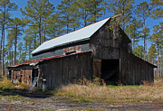 Wooden Structure Photos - Abandoned Barn III by Suzanne Gaff
