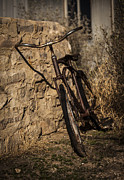 Langtry Prints - Abandoned Bicycle Print by Amber Kresge