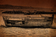 Sail Fish Prints - Abandoned Boat II Print by Marco Oliveira