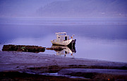 Joe Klune Metal Prints - Abandoned boat Metal Print by Joe Klune