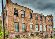 Pallet Framed Prints - Abandoned Brick Building Framed Print by Paul Freidlund