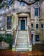 Classic Architecture Prints - Abandoned Building Print by Perry Webster