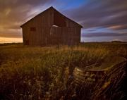 Featured Framed Prints - Abandoned Building, Saskatchewans Framed Print by Chad Coombs
