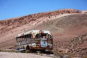 James Brunker - Abandoned Bus in the Atacama Desert