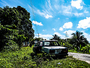 Abandoned Car Jamaica Print by Tyler Ross
