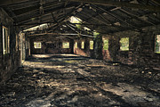 Wooden Building Prints - Abandoned Print by Christopher and Amanda Elwell