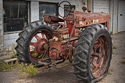 Randall Nyhof - Abandoned Farmall Tractor