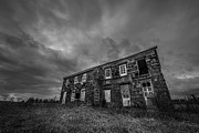 Versprill Framed Prints - Abandoned History 2 BW Framed Print by Michael Ver Sprill