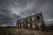 Nikon D800 Originals - Abandoned History 2 by Michael Ver Sprill