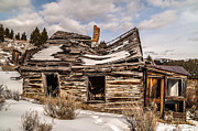 Sue Smith Prints - Abandoned Home or Business Print by Sue Smith