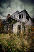 Run Down Framed Prints - Abandoned Hotel HDR Framed Print by Amy Cicconi