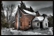 Michaela Preston Prints - Abandoned House 2 Print by Michaela Preston