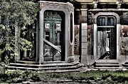 Historic Garden Framed Prints - Abandoned House Framed Print by Marco Oliveira