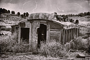 Sheds Prints - Abandoned Print by Ken Smith