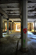 Abandoned Buildings Photo Prints - Abandoned Love Print by Emily Stauring