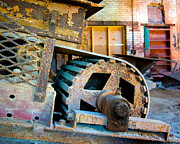 Howard Heywood Metal Prints - Abandoned Machinery Metal Print by Howard Heywood