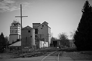 Rail Siding Posters - Abandoned Mill Poster by Richard LaVere