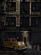 Noir Digital Art - Abandoned Pick Up Truck by Heather Kehoe