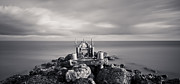 Grey Clouds Photo Prints - Abandoned Pier Print by Adam Romanowicz