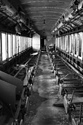 One Point Perspective Framed Prints - Abandoned Railcar Framed Print by Sarah Kasper