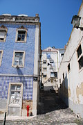 Old Neighbourhood Art - Abandoned residential building and alley in Lisbon by Luis Santos