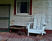 Disrepair Prints - Abandoned Print by Robert Harmon