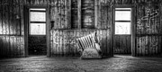 Cushion Photo Posters - Abandoned Poster by Scott Norris