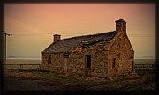 Abandonment Framed Prints - Abandoned Scottish Croft Framed Print by Liz  Alderdice