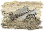 Govan Framed Prints - Abandoned Wagon Framed Print by Andrew Govan Dantzler