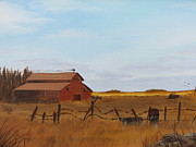 Sask Originals - Abandoned Yard by Linda Koch