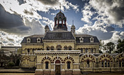 Pumping Station Prints - Abbey Mills Pumping Station Print by Heather Applegate