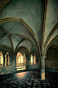 Cloistered Prints - Abbey Room Print by Jill Battaglia