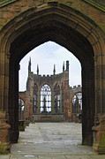 Scotland Framed Prints - Abbey Ruin - Scotland Framed Print by Mike McGlothlen