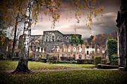 Abandoned House Prints - abbey ruins Villers la ville Belgium Print by Dirk Ercken