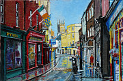 Abbey Street Ennis Co Clare Ireland Print by Tomas OMaoldomhnaigh