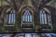 Religious Digital Art Prints - Abbey View Print by Adrian Evans