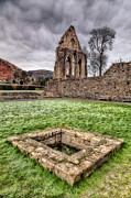 Door Framed Prints - Abbey Well Framed Print by Adrian Evans