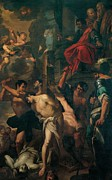 Drapery Prints - Abbiati Filippo, Martyrdom Of The Four Print by Everett