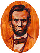 Abe Lincoln Painting Posters - Abe Lincoln  Poster by Harry West