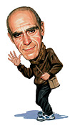 Abe Paintings - Abe Vigoda by Art