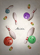 Big Lebowski Prints - Abide Print by Filippo B