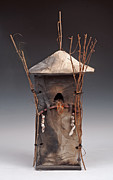 Featured Ceramics - Abode for a Woodland Spirit by Anne Fournier-Anderson