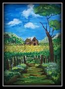 Abode Print by Juna Dutta